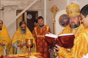 Богослужение в день памяти святителя Николая Чудотворца