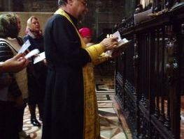 Акафист перед честной главой святой первомученицы равноапостольной Феклы в Дуомо