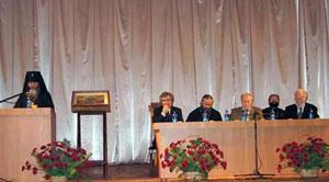 """17 октября 2008 года. Участие в международной конференции """"Покровские чтения"""" в г. Киеве"""