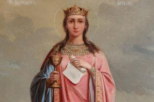 Выставка православных икон Святой Варвары в Тоскане