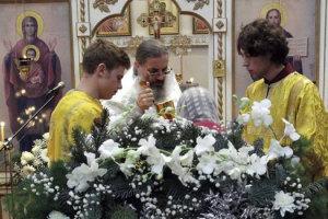 Рождественский сочельник на Свято-Амвросиевском приходе
