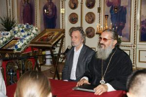 Посещение Милана профессором Виктором Петровичем Легой
