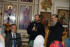 Протоиерей Владимир Шмалий в Милане