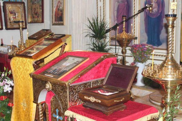 Богослужение в день преподобных Киево-Печерских, в Ближних пещерах почивающих
