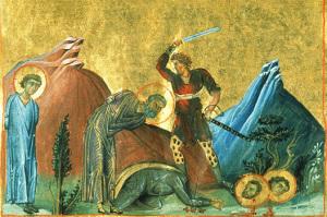 Богослужение в день миланских мучеников Назария, Гервасия, Протасия и Кельсия