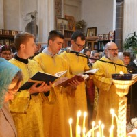 Богослужение в Неделю 24-ю по Пятидесятнице
