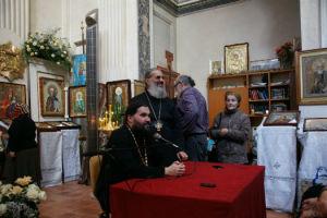 Встреча протоиерея Георгия Ореханова с прихожанами Свято-Амвросиевского прихода