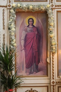 Богослужение в праздник Архистратига Божия Михаила