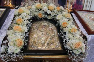 Богослужение в праздник иконы Пресвятой Богородицы Скоропослушница