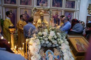 Богослужение в Неделю 28-ю по Пятидесятнице