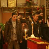 Божественная литургия в Новый год
