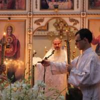 Богослужение в Неделю 33-ю по Пятидесятнице