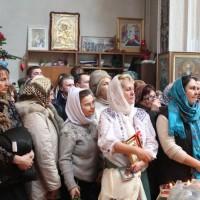 Навечерие Крещения Господня на Свято-Амвросиевском приходе