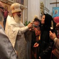 Богослужение в праздник Сертения Господня