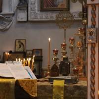 Богослужение в Неделю о мытаре и фарисее на Свято-Амвросиевском приходе