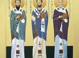 Богослужение в праздник Трех святителей