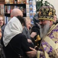 Благодарственный молебен по случаю 10-летней годовщины учреждения Свято-Амвросиевского прихода
