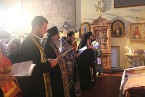 Настоятели православных приходов Милана совместно отслужили очередную великопостную вечерню