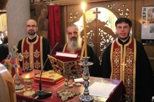 Заключительная пятая великопостная вечерня, отслуженная настоятелями православных церквей Милана