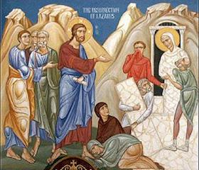 Богослужение в Лазареву субботу