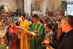 Богослужение в праздник Входа Господня в Иерусалим