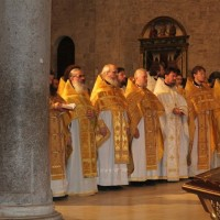 В базилике св. Николая Чудотворца в Бари