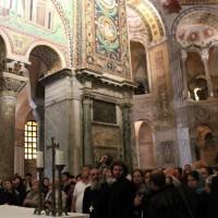 В базилике св. Виталия в Равенне